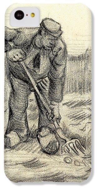 Potato Gatherer IPhone 5c Case by Vincent Van Gogh
