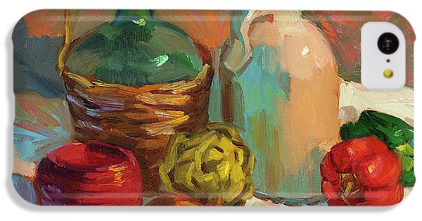 Pottery And Vegetables IPhone 5c Case by Diane McClary