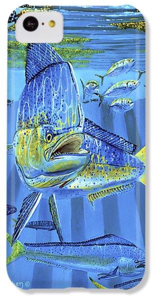 Salmon iPhone 5c Case - Predator Off0067 by Carey Chen