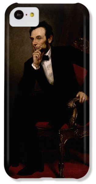 Abraham Lincoln iPhone 5c Case - President Lincoln  by War Is Hell Store