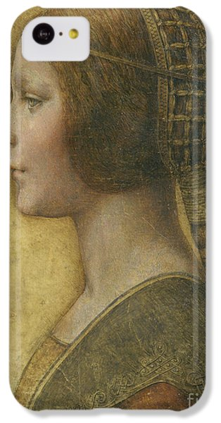 Portraits iPhone 5c Case - Profile Of A Young Fiancee by Leonardo Da Vinci