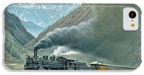 Transportation iPhone 5c Case - Pulling For Silverton by Paul Krapf