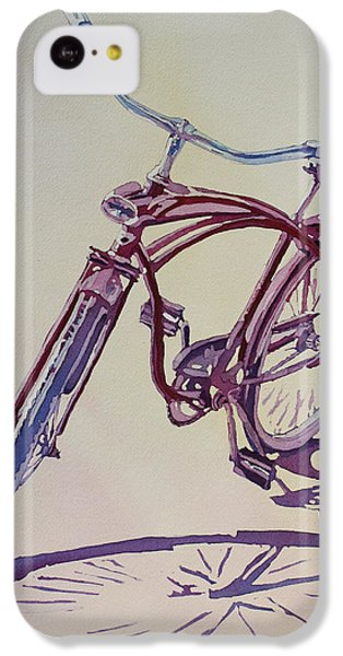 Bicycle iPhone 5c Case - Pure Nostalgia  by Jenny Armitage