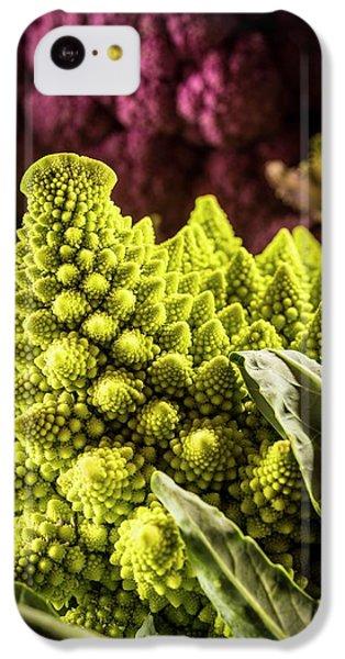 Purple And Romanesque Cauliflowers IPhone 5c Case by Aberration Films Ltd