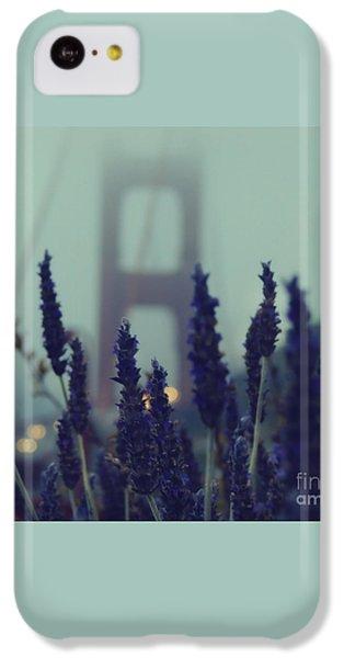 Golden Gate Bridge iPhone 5c Case - Purple Haze Daze by Jennifer Ramirez
