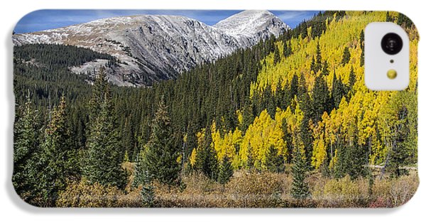 Quandary Peak IPhone 5c Case by Aaron Spong