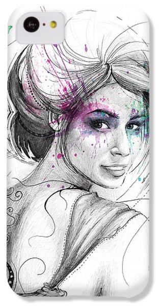 Queen Of Butterflies IPhone 5c Case by Olga Shvartsur
