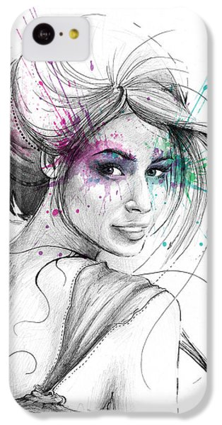 Queen Of Butterflies IPhone 5c Case by Olga Shvartsur