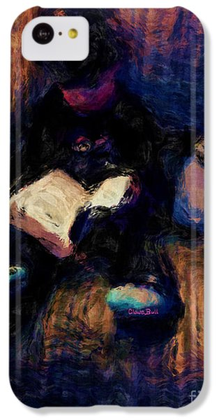 Quiet Time IPhone 5c Case by Claire Bull