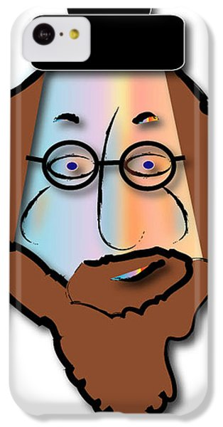 IPhone 5c Case featuring the digital art Rabbi David by Marvin Blaine