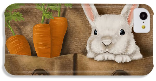 Carrot iPhone 5c Case - Rabbit Hole by Veronica Minozzi