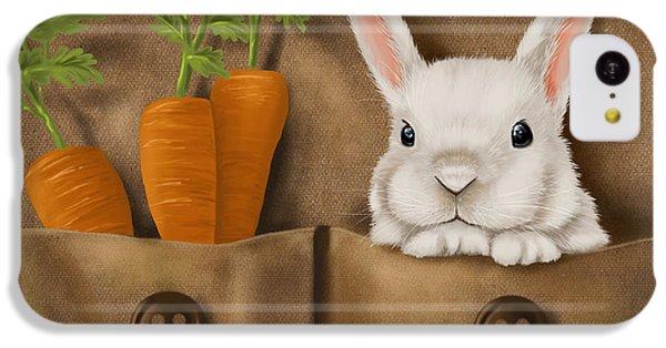 Rabbit Hole IPhone 5c Case by Veronica Minozzi