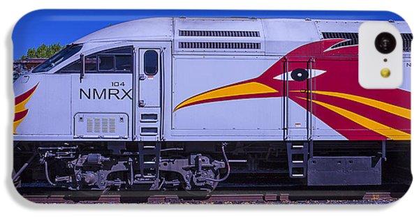 Roadrunner iPhone 5c Case - Rail Runner Train by Garry Gay