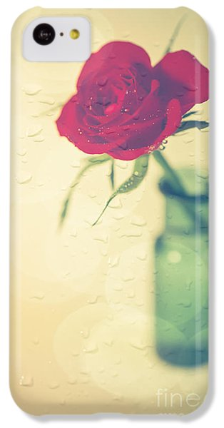 Raindrops On Roses . . . IPhone 5c Case