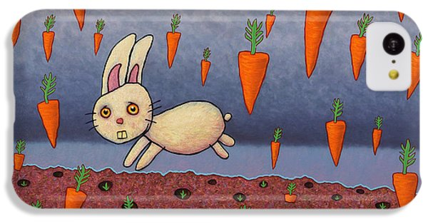 Carrot iPhone 5c Case - Raining Carrots by James W Johnson