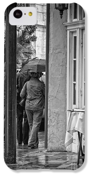 Rainy Day Lunch New Orleans IPhone 5c Case by Kathleen K Parker