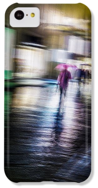 Rainy Streets IPhone 5c Case by Alex Lapidus