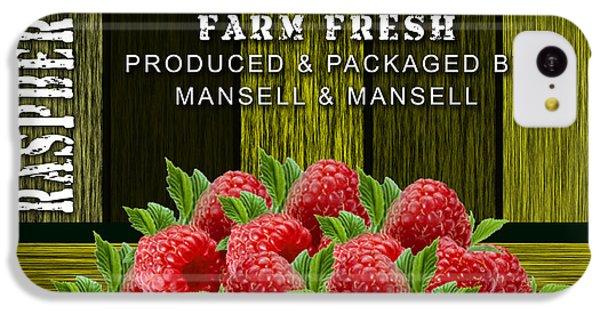 Raspberry Fields IPhone 5c Case by Marvin Blaine