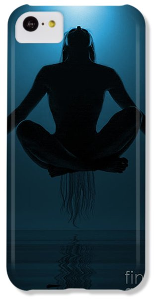 Magician iPhone 5c Case - Reaching Nirvana.. by Nina Stavlund