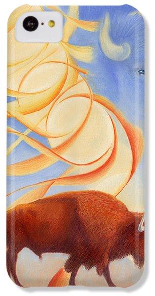 Receiving Buffalo IPhone 5c Case by Robin Aisha Landsong