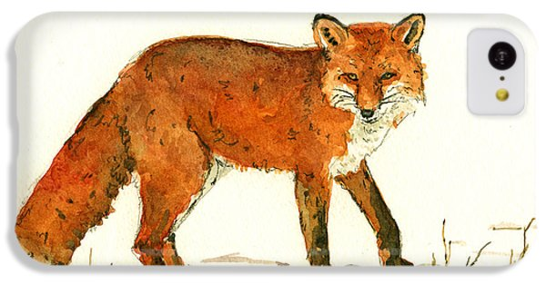Red Fox In The Snow IPhone 5c Case