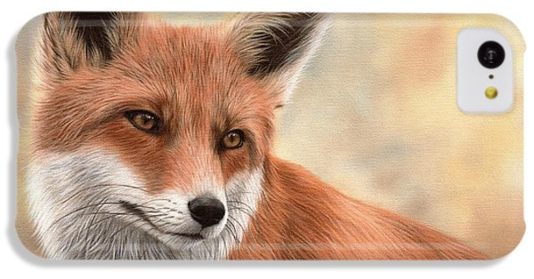 Red Fox Painting IPhone 5c Case