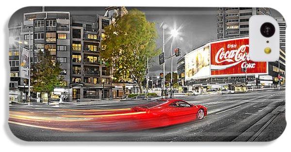Red Lights Sydney Nights IPhone 5c Case by Az Jackson