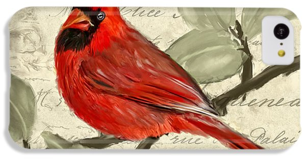 Red Melody IPhone 5c Case by Lourry Legarde