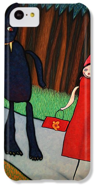 Fairy iPhone 5c Case - Red Ridinghood by James W Johnson