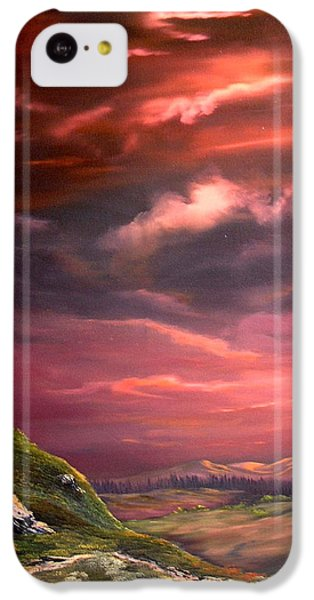 Red Sky At Night IPhone 5c Case