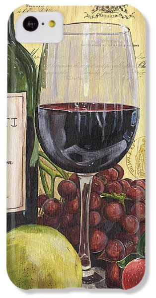 Red Wine And Pear IPhone 5c Case