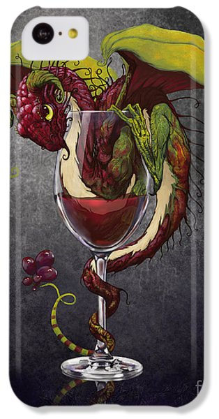 Red Wine Dragon IPhone 5c Case
