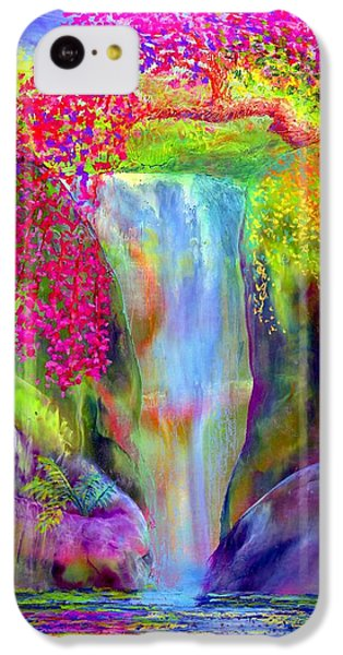 Waterfall And White Peacock, Redbud Falls IPhone 5c Case