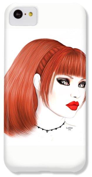 Redhead Cassia IPhone 5c Case by Renate Janssen