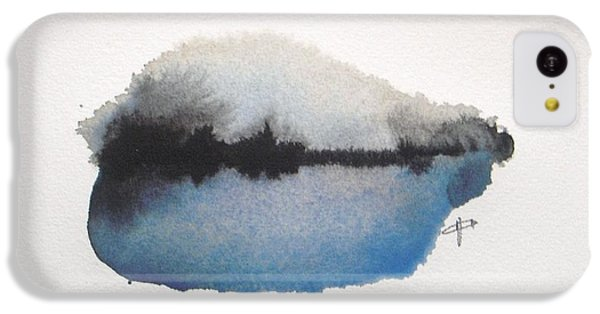Abstract iPhone 5c Case - Reflection In The Lake by Vesna Antic