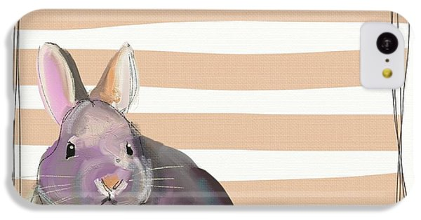Orange iPhone 5c Case - Rescued Bunny by Cathy Walters
