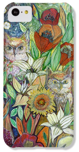 Tulip iPhone 5c Case - Returning Home To Roost by Jennifer Lommers