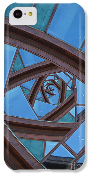 Revolving Blues. IPhone 5c Case by Clare Bambers