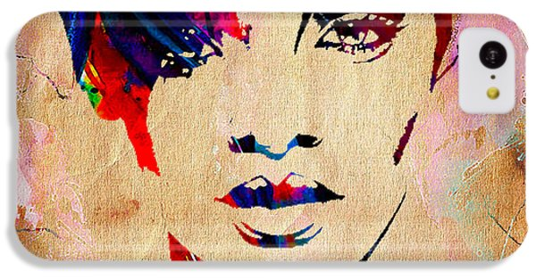 Rhianna Collection IPhone 5c Case by Marvin Blaine