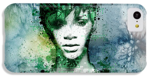 Rihanna 4 IPhone 5c Case by Bekim Art