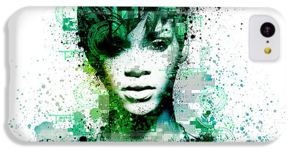 Rihanna 5 IPhone 5c Case by Bekim Art