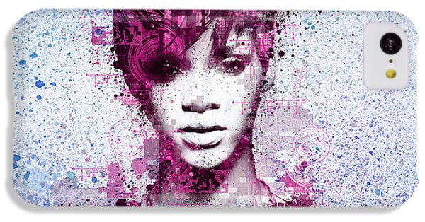 Rihanna 8 IPhone 5c Case by Bekim Art