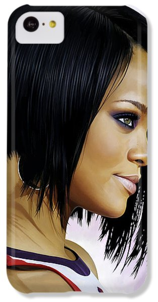 Rihanna Artwork IPhone 5c Case by Sheraz A