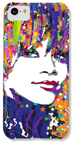 Rihanna In Blue IPhone 5c Case by Irina Effa