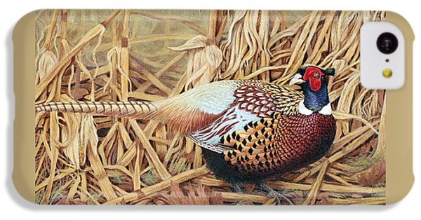Pheasant iPhone 5c Case - Ring-necked Pheasant by Ken Everett