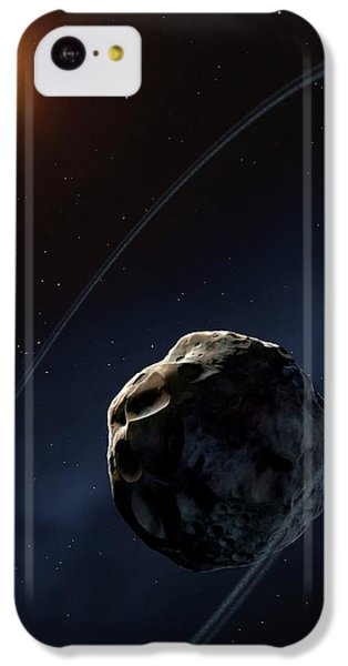 Ringed Asteroid Chariklo IPhone 5c Case by Mark Garlick