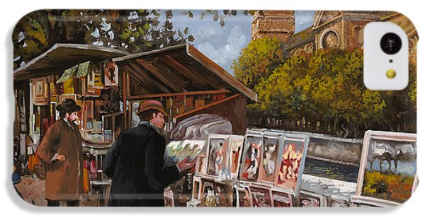 Rive Gouche IPhone 5c Case by Guido Borelli