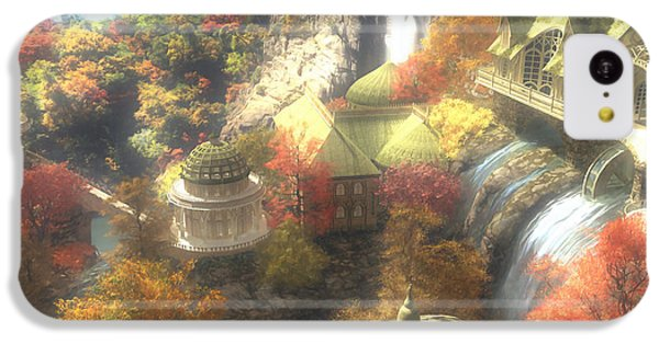 Rivendell IPhone 5c Case by Cynthia Decker