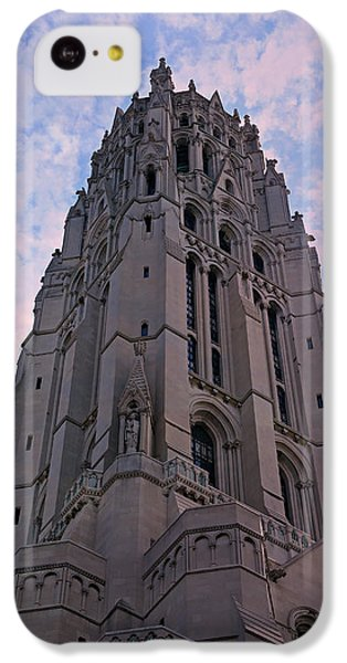 Harlem iPhone 5c Case - Riverside Church by Stephen Stookey