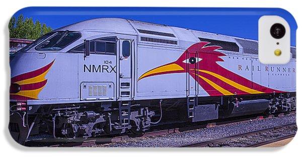 Roadrunner iPhone 5c Case - Road Runner Express Train by Garry Gay